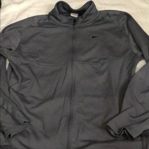 Nike Sweater, Gray, Men size Large